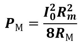 формула мощность отдаваемая микрофоном